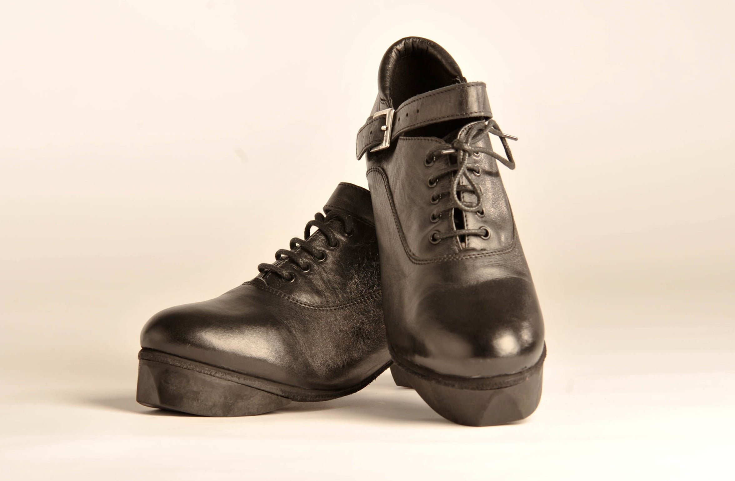Leather Or Hard Soled Dancing Shoes